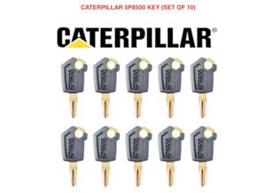 10 x CAT CATERPILLAR TIGERCAT ASV Master Plant Excavator Digger Dumper Keys