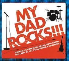 VARIOUS ARTISTS-MY DAD ROCKS!!! CD ALBUM(2008)CRIMCD522(Compilation)Crimson(UK)