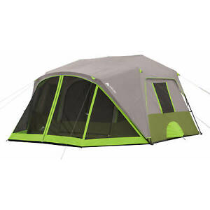 9 Person Cabin Tent  Home Outdoor Backyard Camping Hiking All season Portable