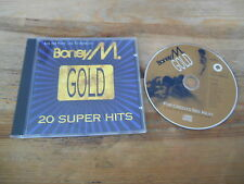 CD POP BONEY M-Or: 20 Super Hits (20 chanson) BMG MCI JC