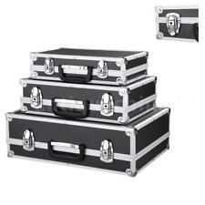 3x Tool Box Hard Aluminum Flight Carrying Case Cash Security Locking Boxes Set