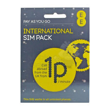 EE Pay As You Go 10 Pound International Sim Pack