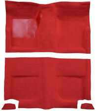 1965-1968 Ford Mustang Fastback without Folddowns Pass Area 615 Red Nylon Mass