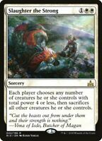 1X Slaughter the Strong MTG RIVALS OF IXALAN, NM Pack Fresh