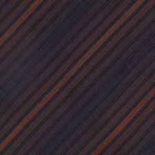 THOMAS PINK Smooth! Blended Gradient Stripes Brown Purple Mens Silk Neck Tie