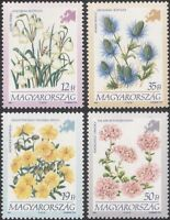 Hungary 1994 Flowers of Europe/Rock-rose/Pennycress/Plants/Nature 4v set  n45561