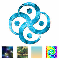 Vinyl Decal Sticker Virgo Chinese Symbols ebn2704 Multiple Patterns /& Size