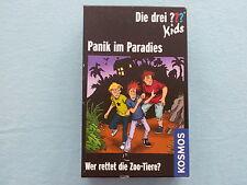 Die drei ??? Fragezeichen, Panik im Paradies, KOSMOS 697709, Mitbringspiel