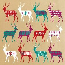 HEART OF KENT HOSPICE CHARITY CHRISTMAS CARDS : CHRISTMAS REINDEER 10 PK