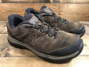 New Balance MW769BR Men's Brown Suede Walking Hiking Shoes Sz US 9.5 Extra-Wide