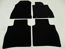 Nissan Pulsar 2014-on Fully Tailored Deluxe Car Mats in Black