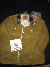 Sold Out Justin Timberlake Man Of The Woods Levis Yellow Jacket Size XLarge