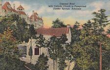 Postcard Crescent Hotel Eureka Springs Arkansas