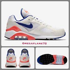 Nike Air Max 180, AH6786-100, Sz UK 5.5, EU 39, US 8 W, White, Ultramarine