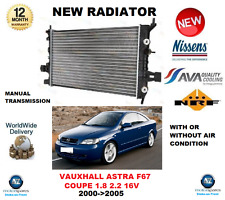 Per Vauxhall Astra F67 COUPE 1.8 2.2 16V 2000 - > 2005 NUOVO RADIATORE * OE QUALITY *