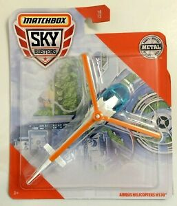 Matchbox Sky Busters 10/13 Air Bus Helicopters H130 Medical Flight Ambulance