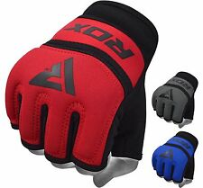 RDX MMA Gants Kickboxing Entrainement Arts Martiaux Grappling Sparring Cuir FR