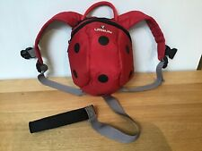 Littlelife Ladybird Day sack With Rein. VGC