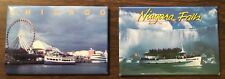 Souvenir Chicago and Niagara Falls Canada Maid of the Mist Refrigerator Magnets