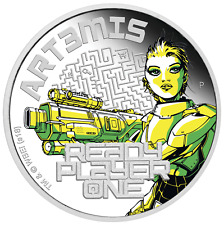 2018 Ready Player One - Art3mis 1 oz Silver Proof $1 Coin spielberg new movie