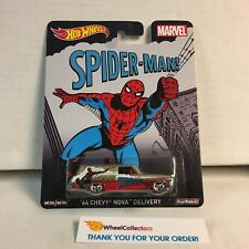 '64 Chevy Nova Delivery SPIDER-Man * Marvel * Pop Culture Hot Wheels * YC6