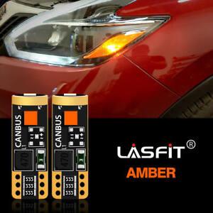 T10 168 194 LED Front Side Marker For Subaru Legacy Forester Impreza 2012-2017
