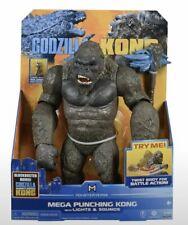 "Godzilla vs Kong 13"" Mega Punching Kong w/ Lights & Sounds Action Figure Monster"