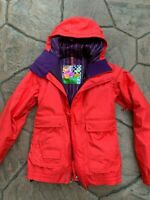 Burton womens Big Mountain Ski Board Snow Jacket XS