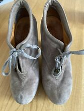 Chie Mihara Suede Shoe Boots Size 38.5