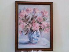 Pink Floral Art Paintings