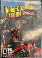 Roller Coaster Tycoon World (PC) 2016 DVD-Rom Brand New, Sealed