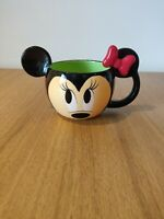 Official Disney Minnie Mouse 3D Face And Lace , Rare Classic Tea Coffee Cup Mug
