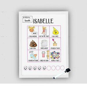 Toilet training, Potty Training Chart, Toddler, Reward Chart, kids potty, ASD