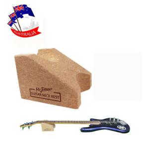 Guitar Neck Rest Support Corkwood Luthier Tool For Guitar Bass Maintenance AU