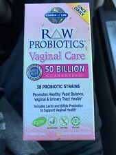 Garden Of Life RAW Probiotics Vaginal Care 30 Vegetarian Capsules