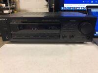 Sony AV Receiver Amplifier AM FM Home Theater Pro Logic STR-D565 CLEAN. TESTED.
