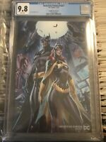 DETECTIVE COMICS 1027 J SCOTT CAMPBELL VARIANT COVER BATGIRL 2020 9.8 CGC GRADED