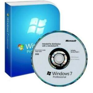 Microsoft Windows 7 Professional 32-bit DVD - Includes Service Pack 1