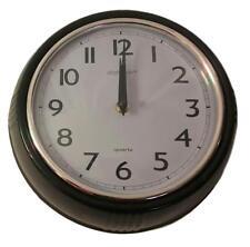Skytimer Home Decor Analog Wall Clock (9.5 in.) Black B1032