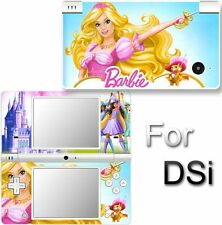 Barbie and 3 musketeers SKIN DECAL STICKER for DSi NDSi