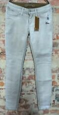 $306 NWT ROBIN'S Jeans In Cuir White Skinny Jeans size 25