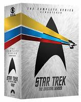 Star Trek Original Series TOS All Seasons Episodes Complete Series DVD Set
