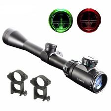 Tactical 3-9x40EG Red and Green Illuminated Rifle Scope Sight Free Shipping