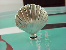 Vintage Tiffany&Co Sterling Silver Clam shell Perfume Sent Bottle Clam Shell #35