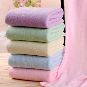 4Pack 70*140cm Microfiber Absorbent BathTowel Soft Shower Towel Quick-drying