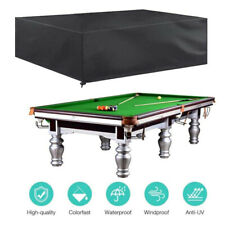 7FT 8FT Outdoor Pool Billiard Snooker Table Cover Waterproof Dust Cap NEW AU