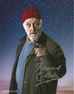 Bernard Cribbins from Doctor Who lovely hand signed photo incls COA UACC & AFTAL