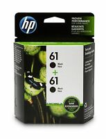 HP 61 Black Ink Cartridge CH561WN 2 Ink Cartridges CZ073FN for HP Deskjet