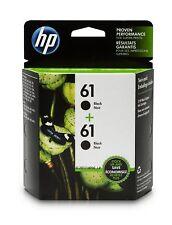 HP 61 Black Ink Cartridge CH561WN 2 Ink Cartridges CZ073FN for HP Deskjet