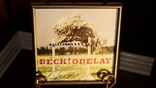 BECK ODELAY AUTOGRAPHED / SIGNED PROMO CD / ALBUM FLAT FRAMED!!!  AWESOME PIECE!